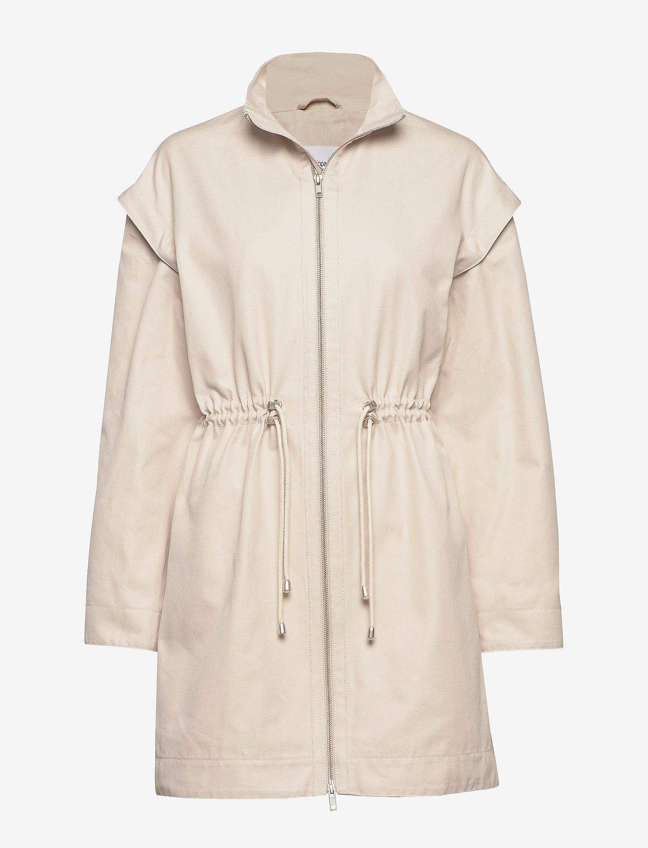 Filippa K - Kailee Jacket - lette frakker - ivory - 0