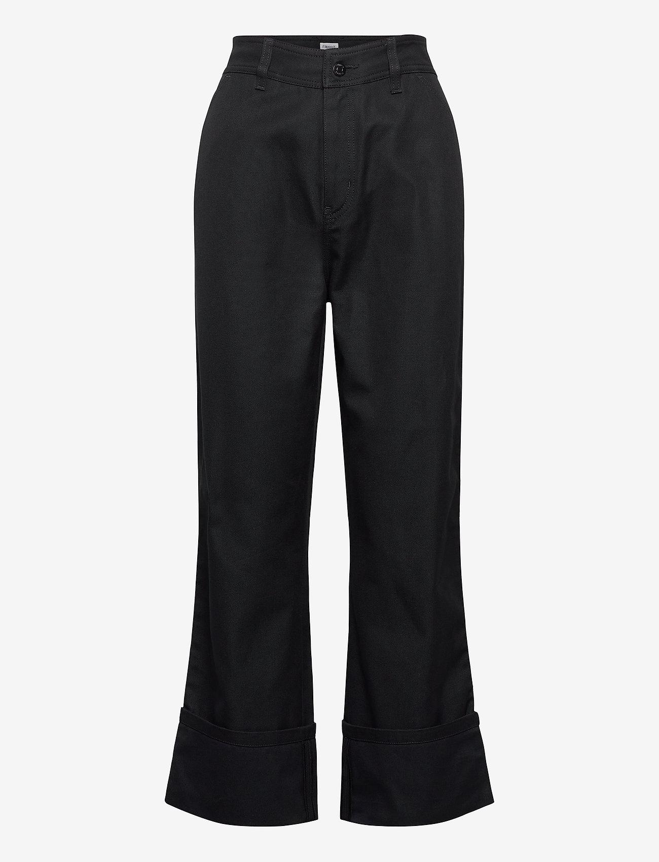 Filippa K - Janet Trouser - bukser med brede ben - almost bla - 0