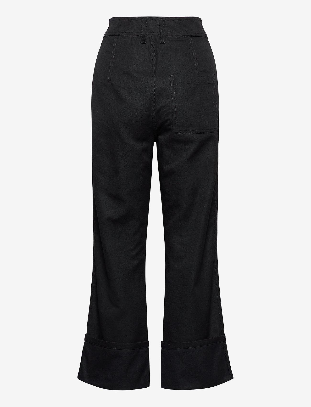 Filippa K - Janet Trouser - bukser med brede ben - almost bla - 1