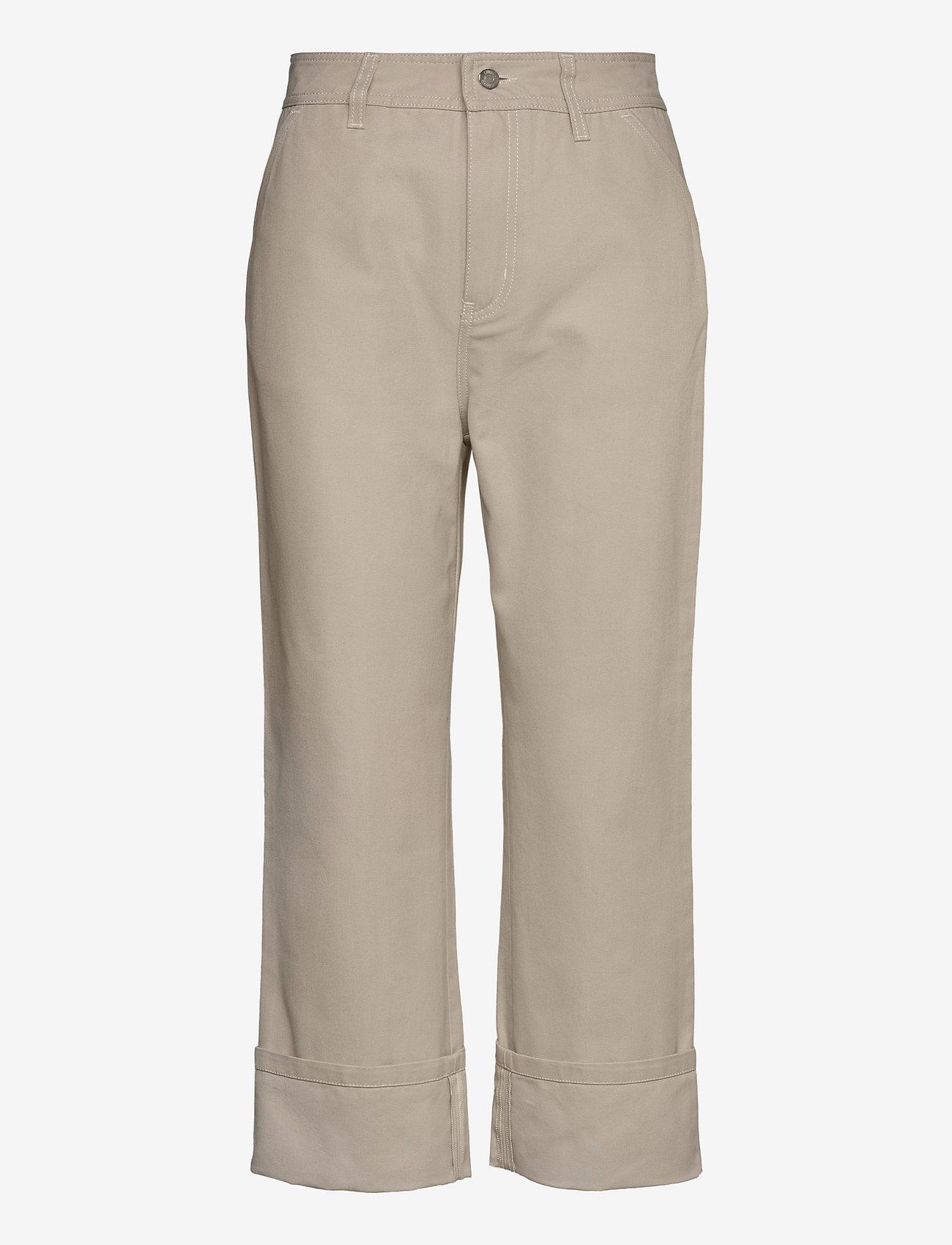 Filippa K - Janet Trouser - bukser med brede ben - ivory - 0