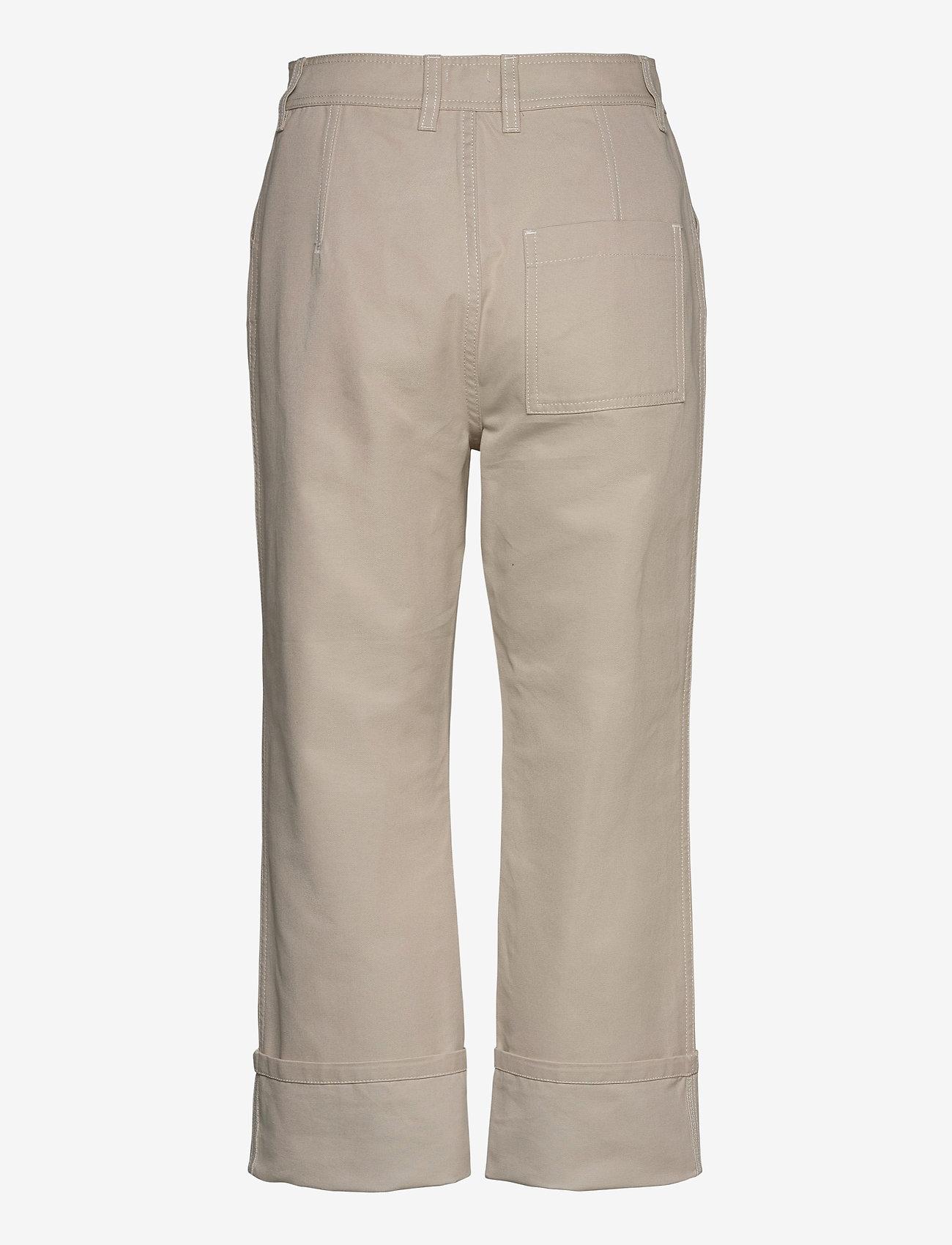 Filippa K - Janet Trouser - bukser med brede ben - ivory - 1
