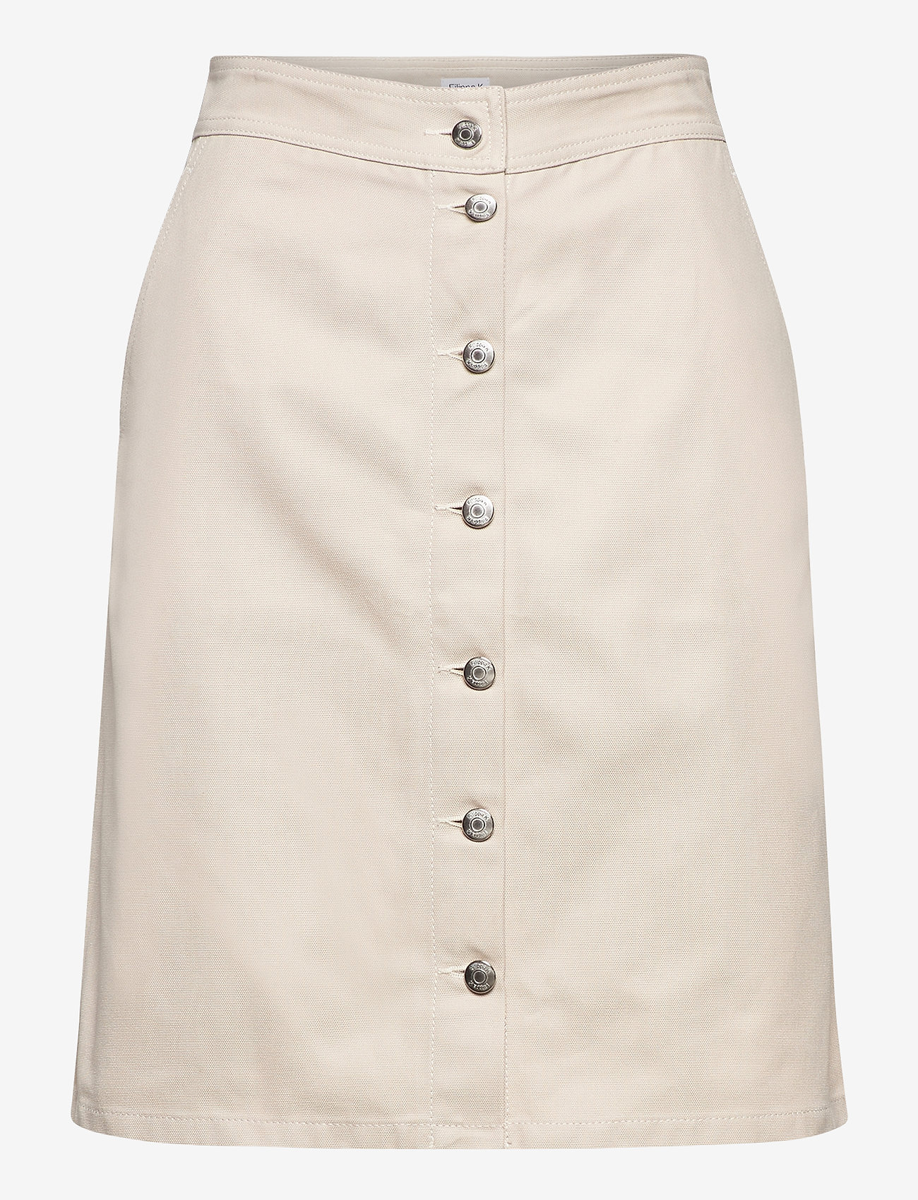 Filippa K - Piper Skirt - midinederdele - ivory - 0