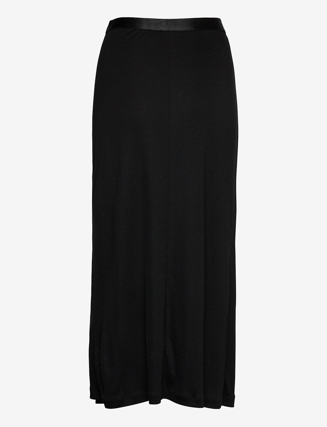 Filippa K - Viola Skirt - maxi nederdele - black - 1