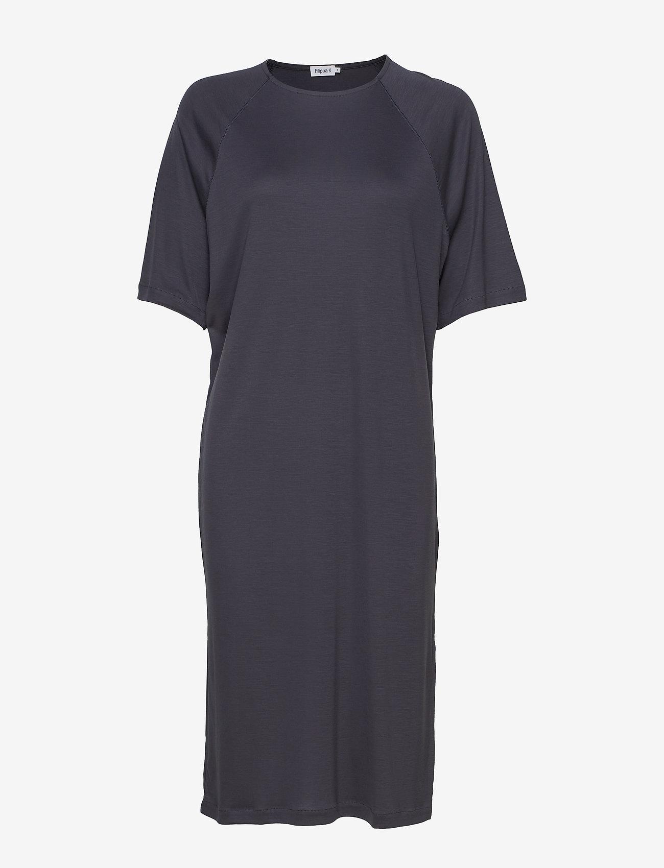Filippa K - Mira Dress - maxi kjoler - ink blue