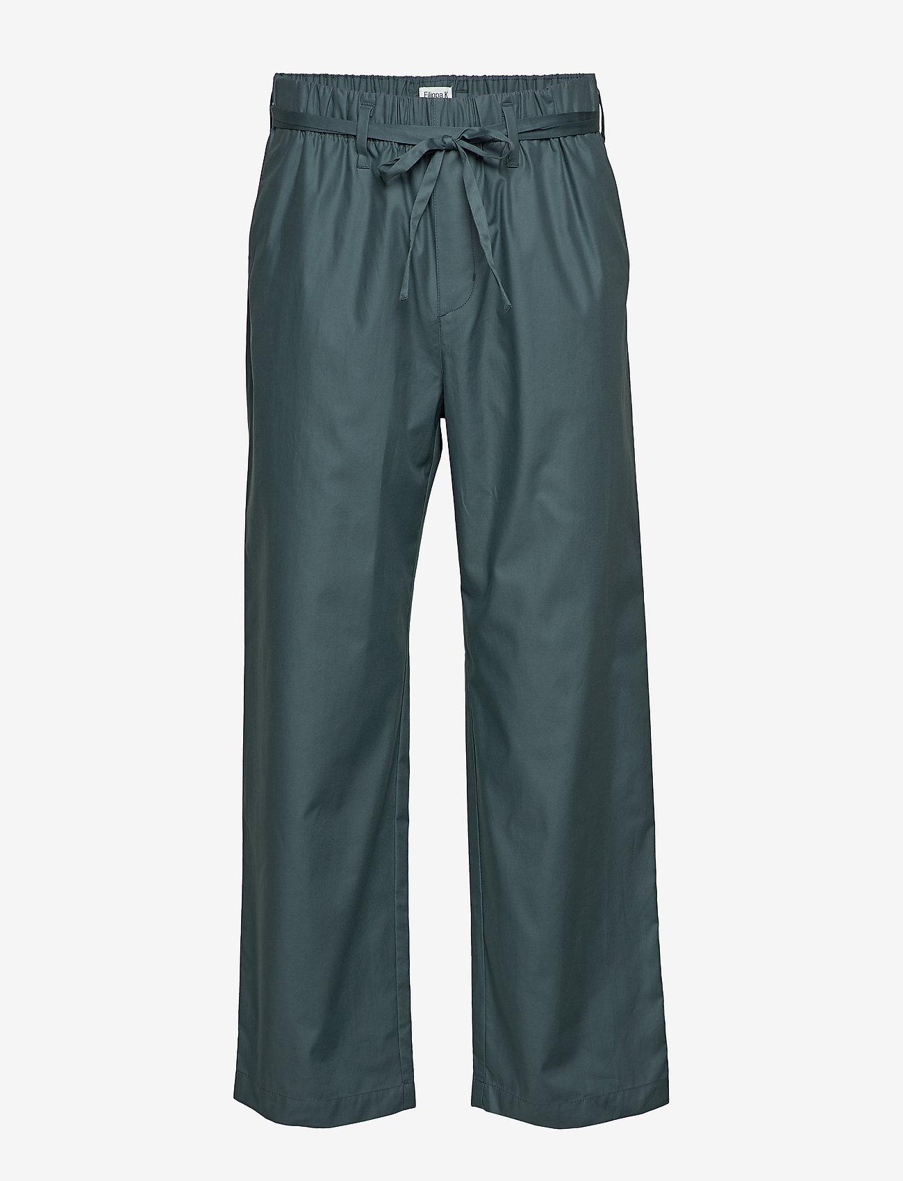 Filippa K - M. Augustine Trouser - spodnie na co dzień - charcoal b - 0