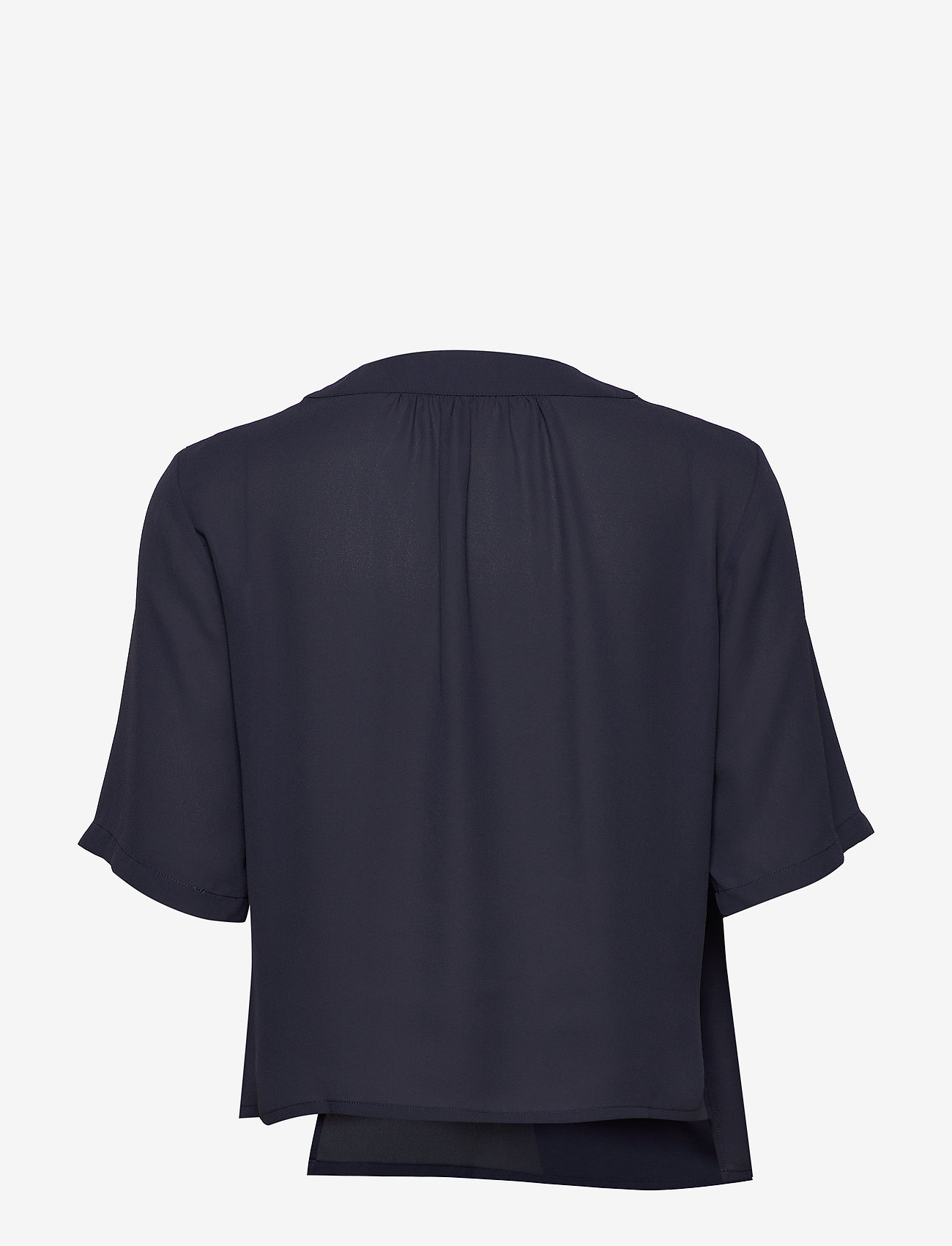 Filippa K - Reagan Blouse - blouses met korte mouwen - ink blue - 1
