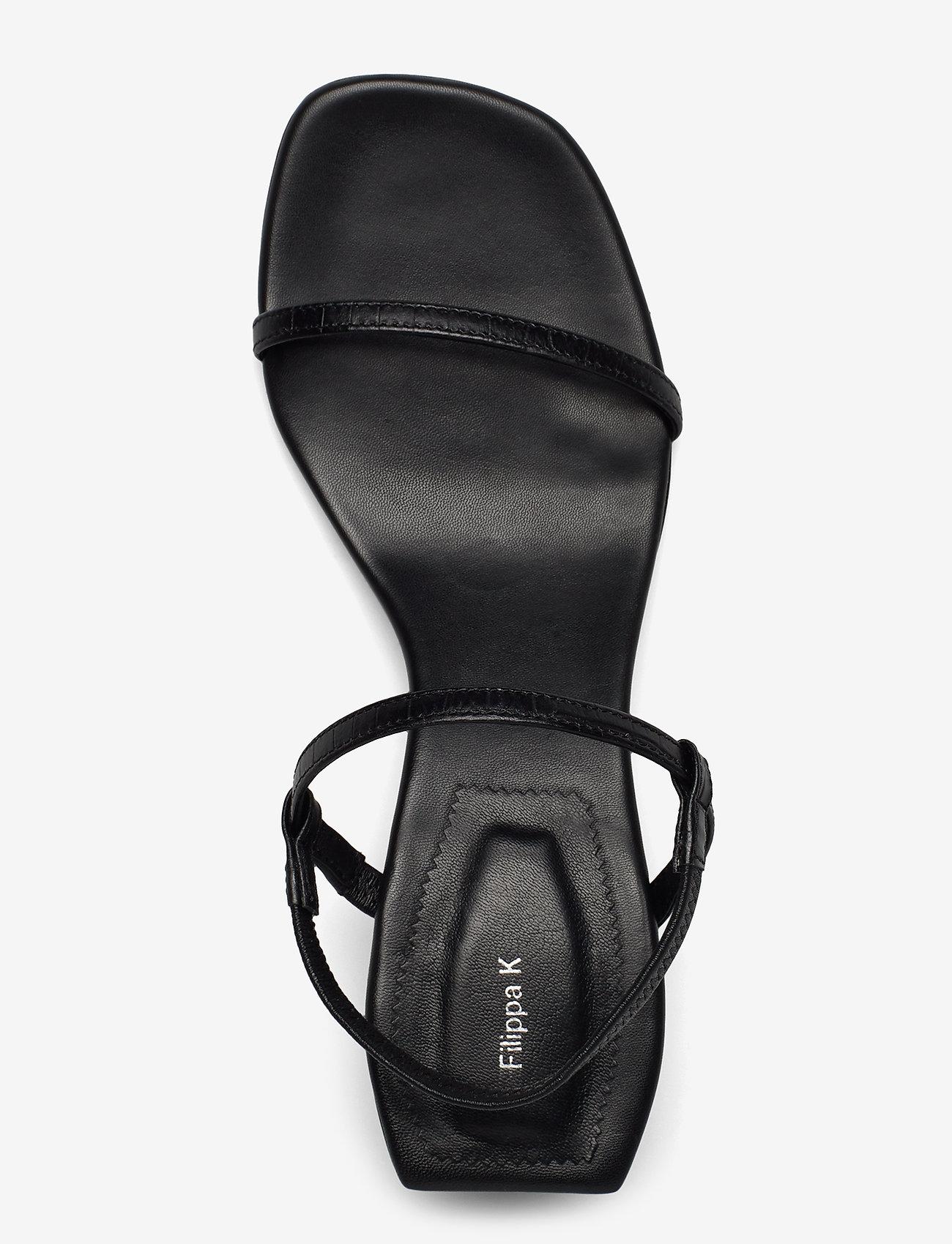 Livia Low Sandal (Black) - Filippa K