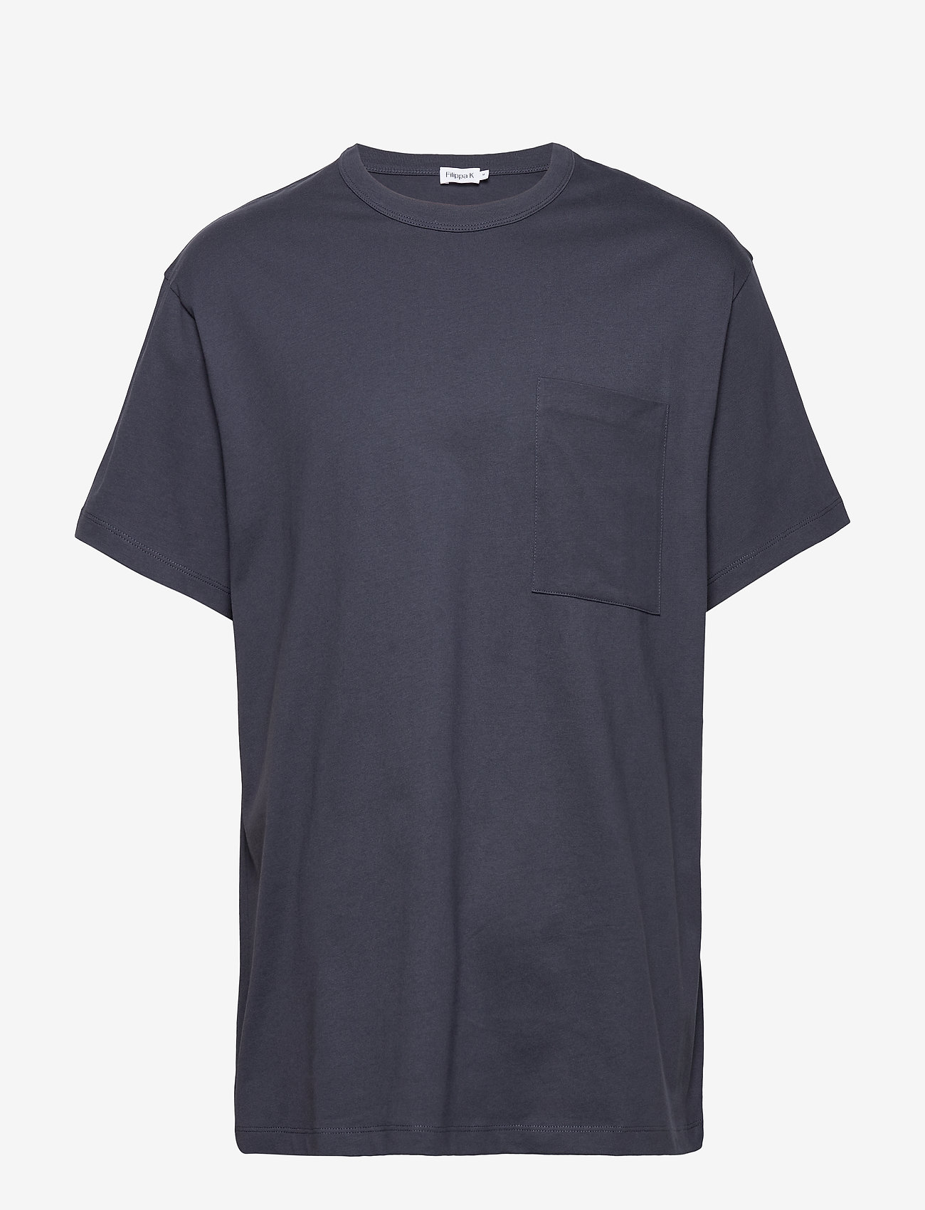 Filippa K - M. Brad T-Shirt - basic t-shirts - ink blue - 0