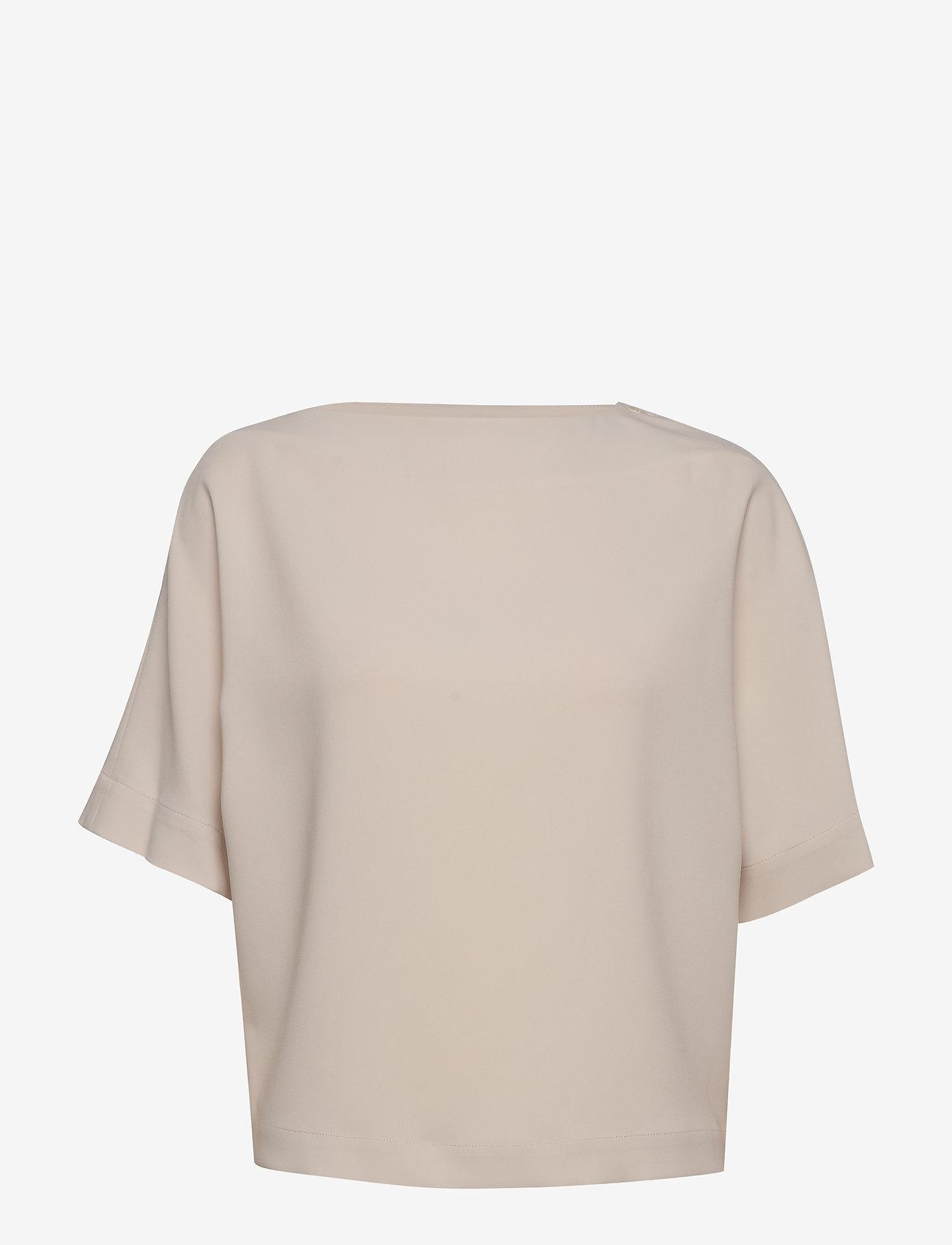 Filippa K - Diane Top - blouses med korte mouwen - ivory - 0