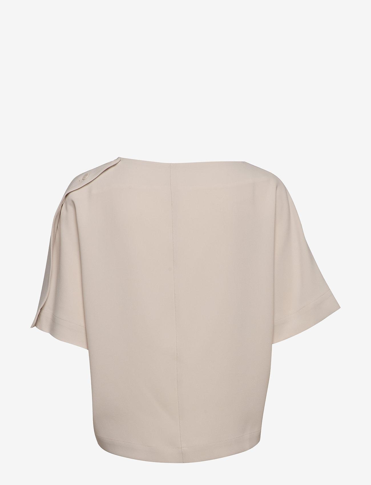 Filippa K - Diane Top - blouses med korte mouwen - ivory - 1
