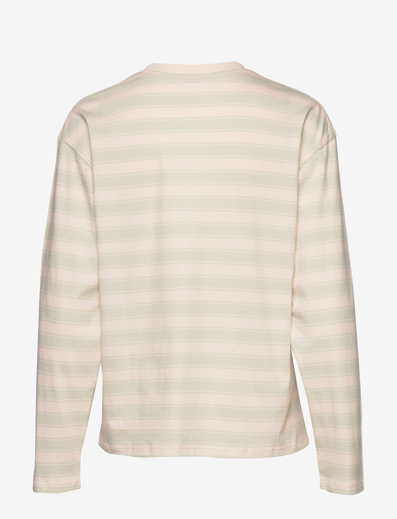 Filippa K - Linnett Top - stribede t-shirts - faded aqua - 1