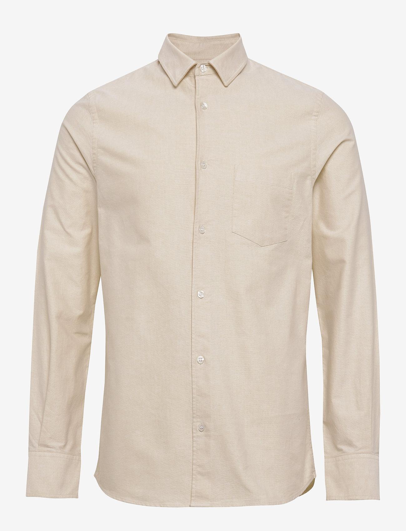 Filippa K - M. Tim Oxford Shirt - basic overhemden - faded yell - 0