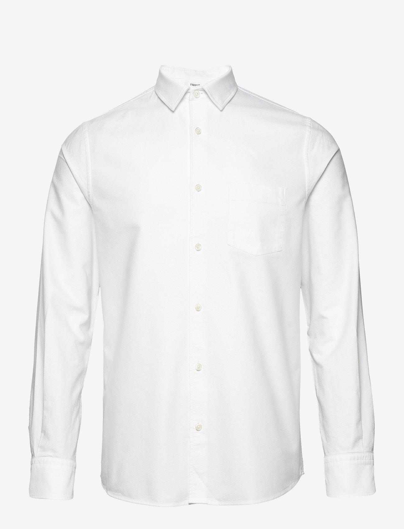 Filippa K - M. Tim Oxford Shirt - basic overhemden - white - 0