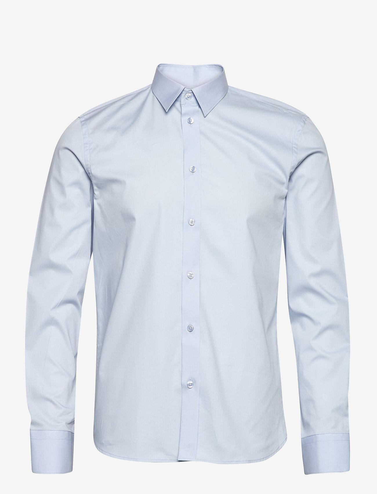 Filippa K - M. Paul Stretch Shirt - oxford overhemden - light blue - 0
