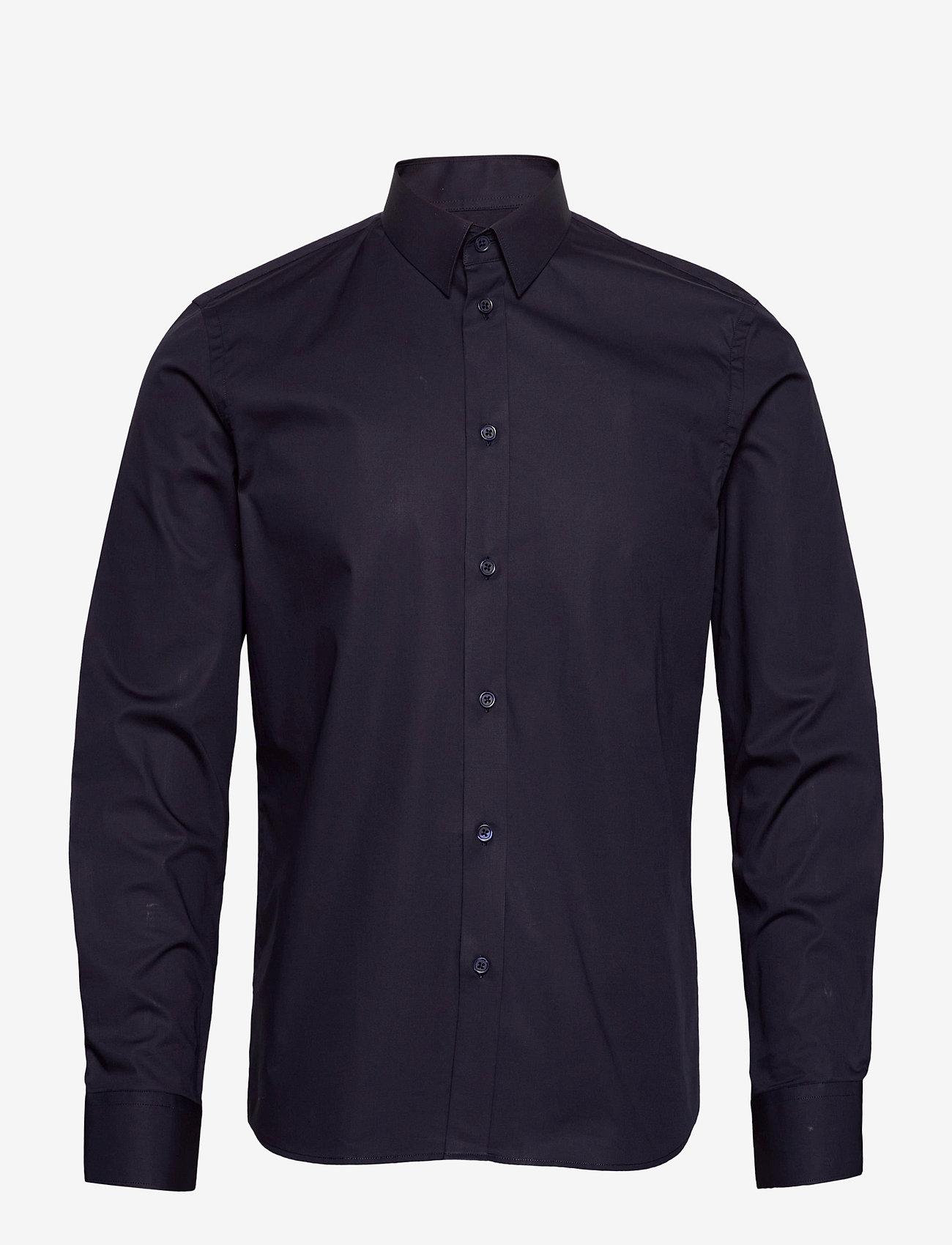 Filippa K - M. Paul Stretch Shirt - oxford overhemden - navy - 0