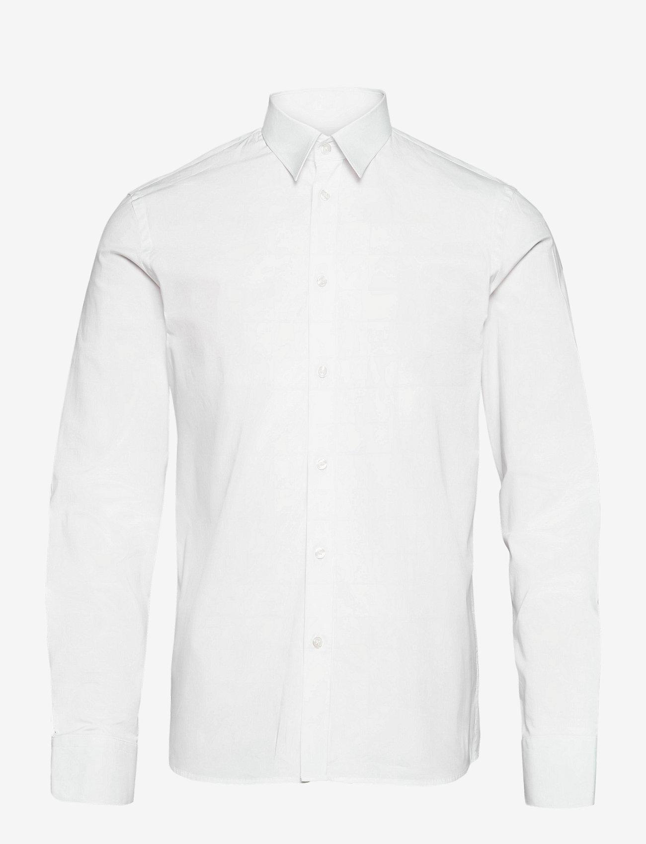 Filippa K - M. Paul Stretch Shirt - chemises oxford  use default - white - 0