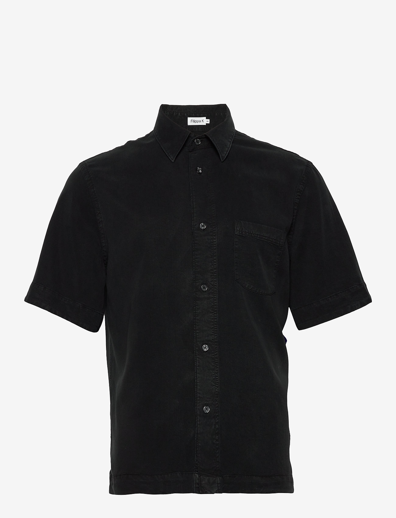 Filippa K - M. Owen Tencel Shirt - chemises basiques - almost bla - 0