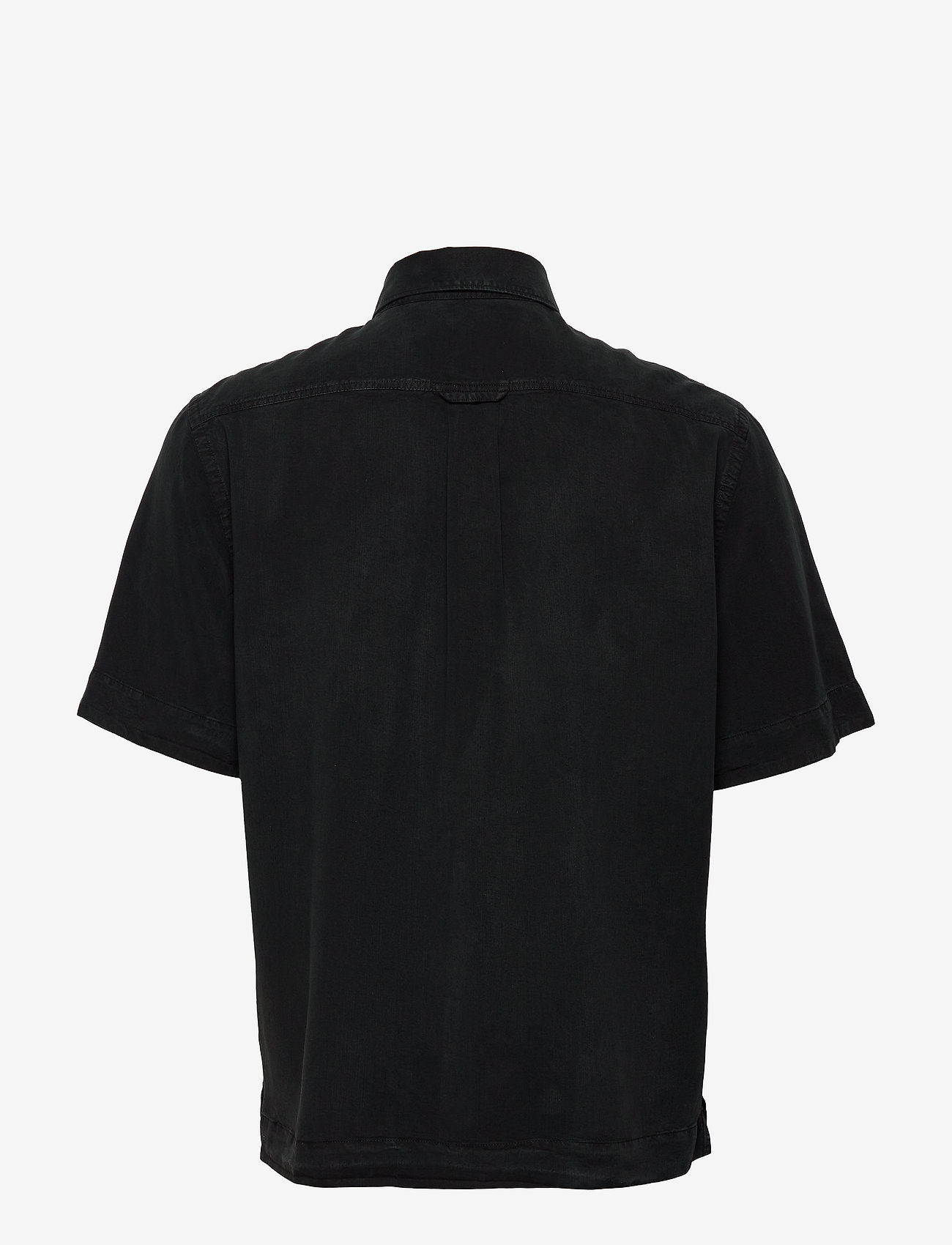 Filippa K - M. Owen Tencel Shirt - chemises basiques - almost bla - 1
