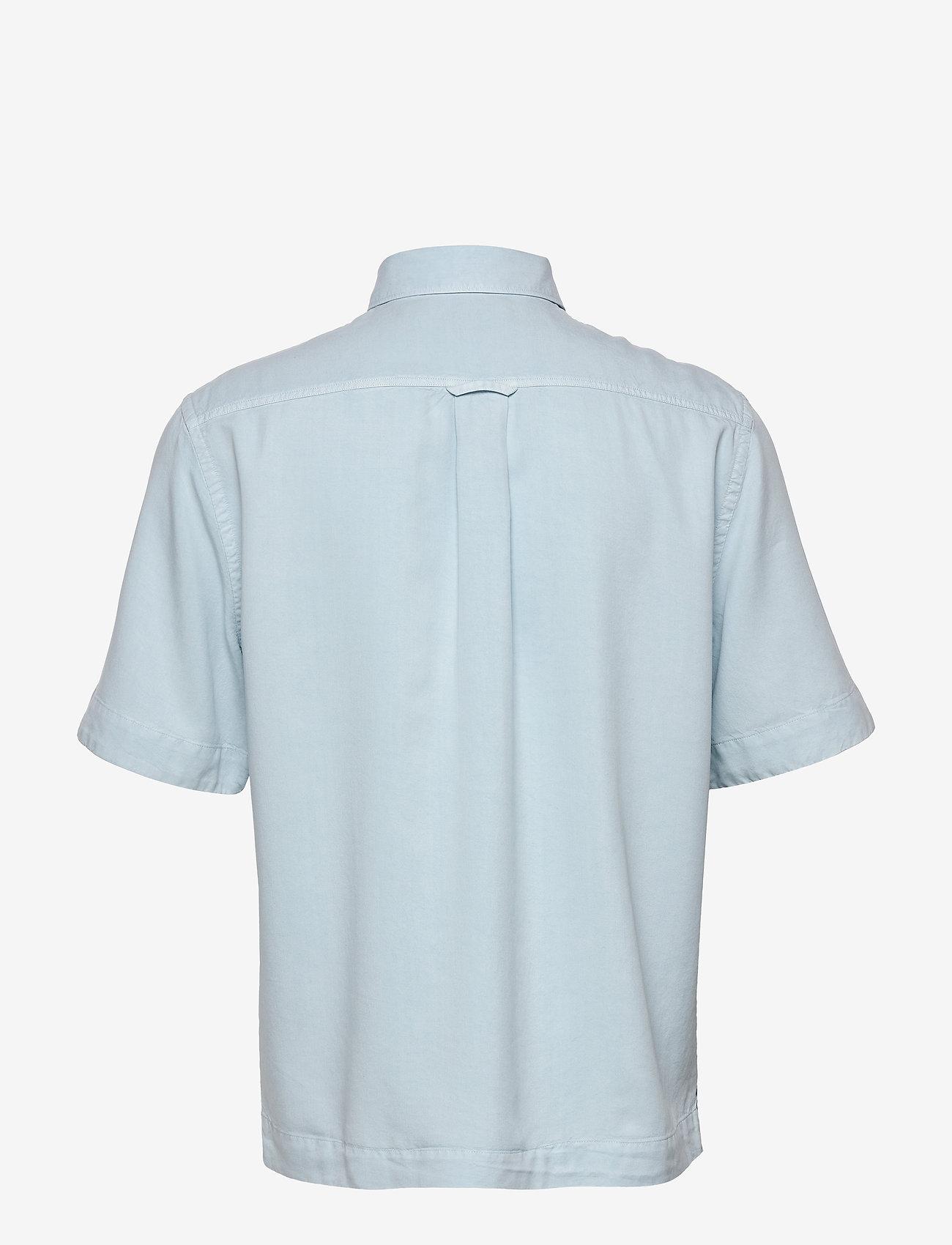 Filippa K - M. Owen Tencel Shirt - basic overhemden - pale blue - 1