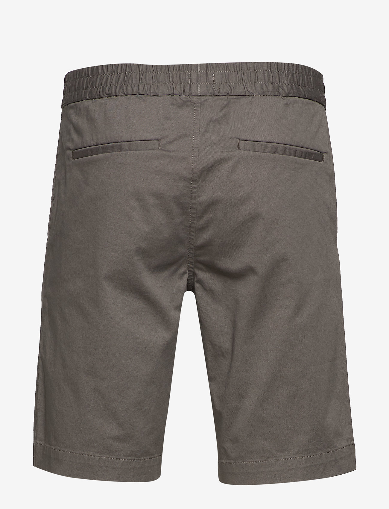 Filippa K - M. Terry Short - tailored shorts - green grey - 1