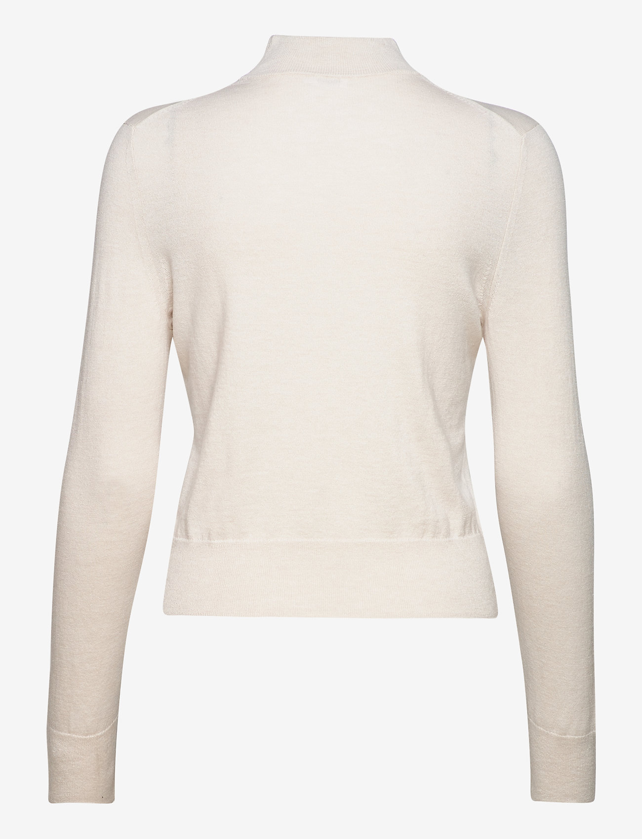 Filippa K - Lynn Silk Mix Sweater - turtlenecks - ivory - 1
