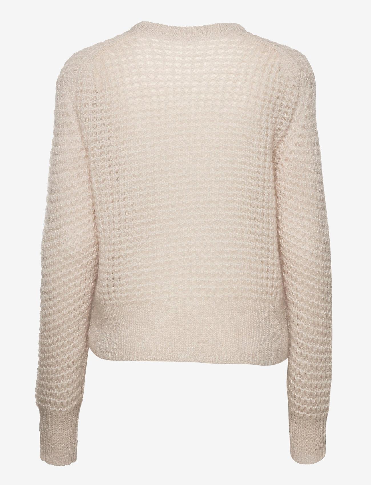Filippa K - Helen Mohair Sweater - tröjor - ivory - 1