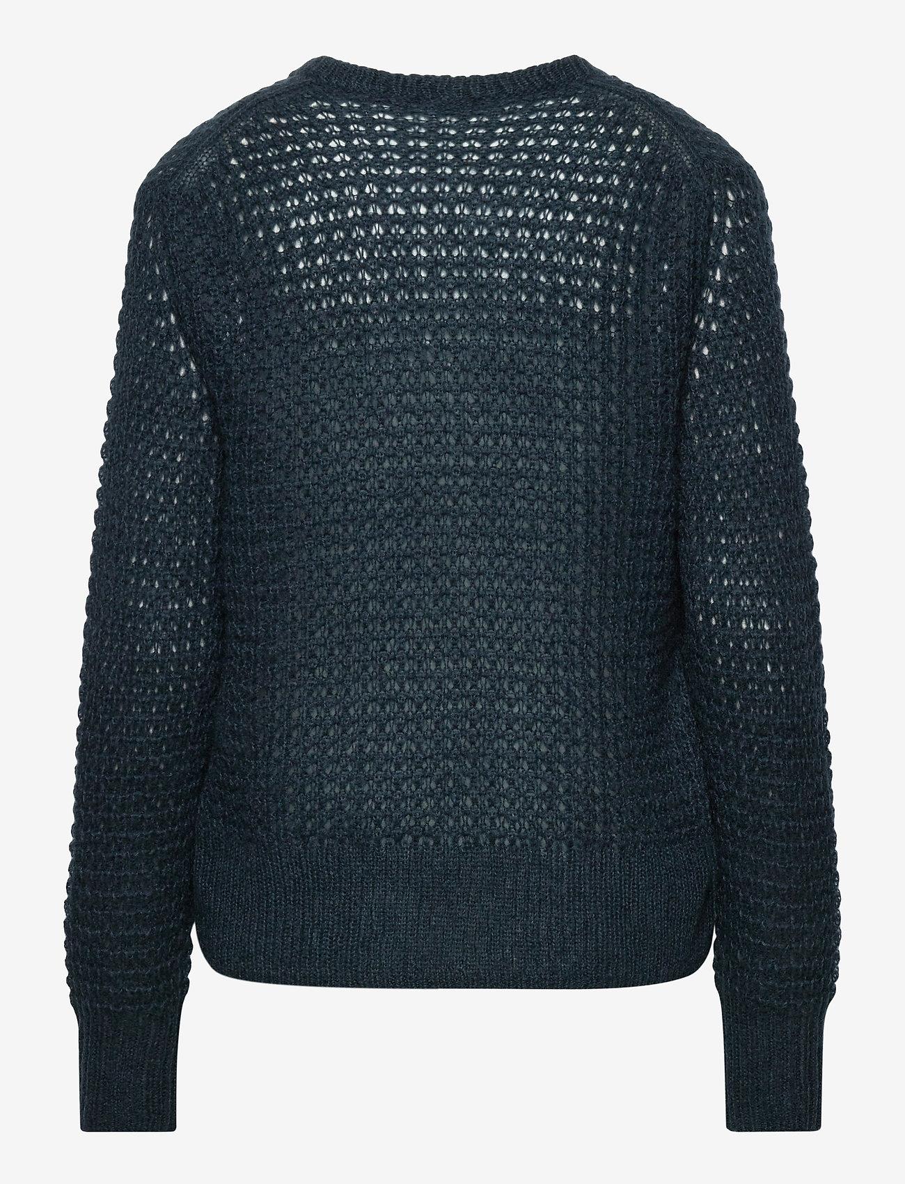 Filippa K - Helen Mohair Sweater - tröjor - pacific bl - 1