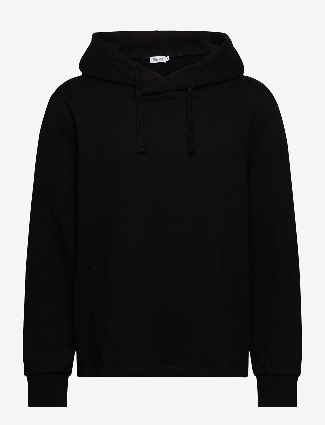 Filippa K - M. Walter Hoodie - hoodies - black - 0