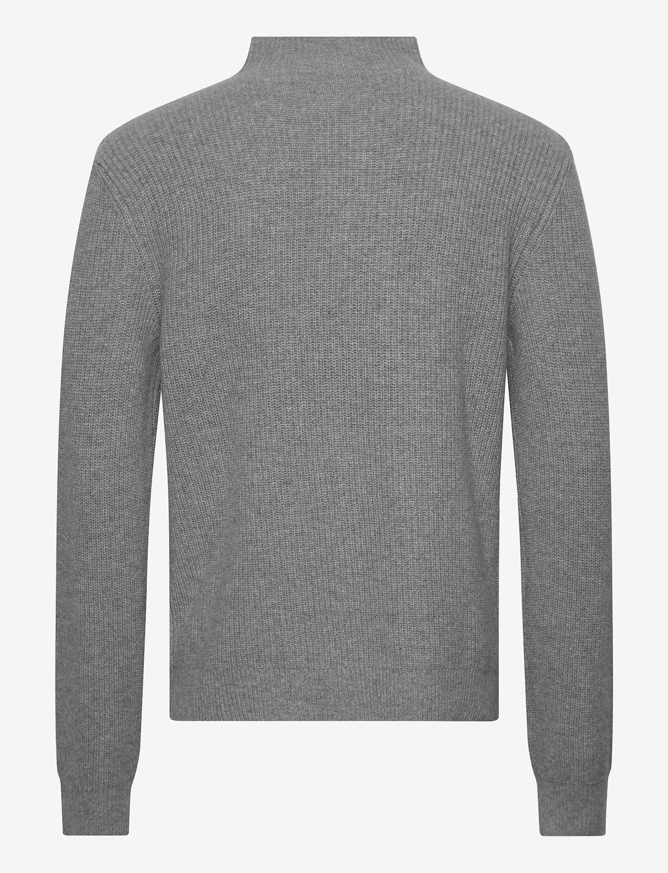 Filippa K M. Harrod Sweater - Strikkevarer WARM GREY - Menn Klær