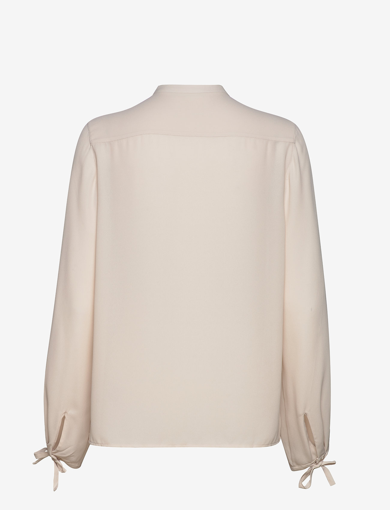 Filippa K - Gia Blouse - long sleeved blouses - ivory - 1