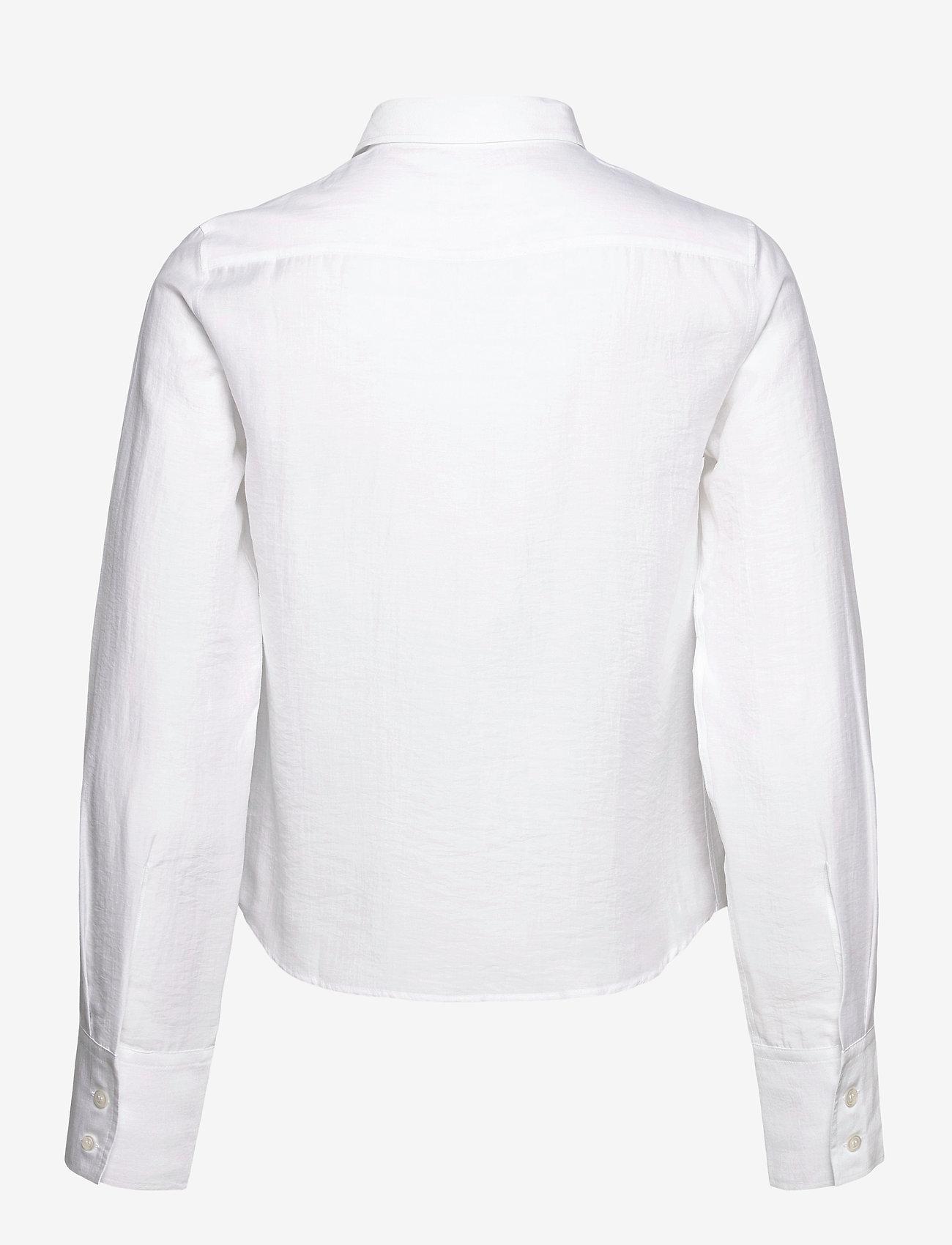 Filippa K - Helena Shirt - denim shirts - white chal - 1
