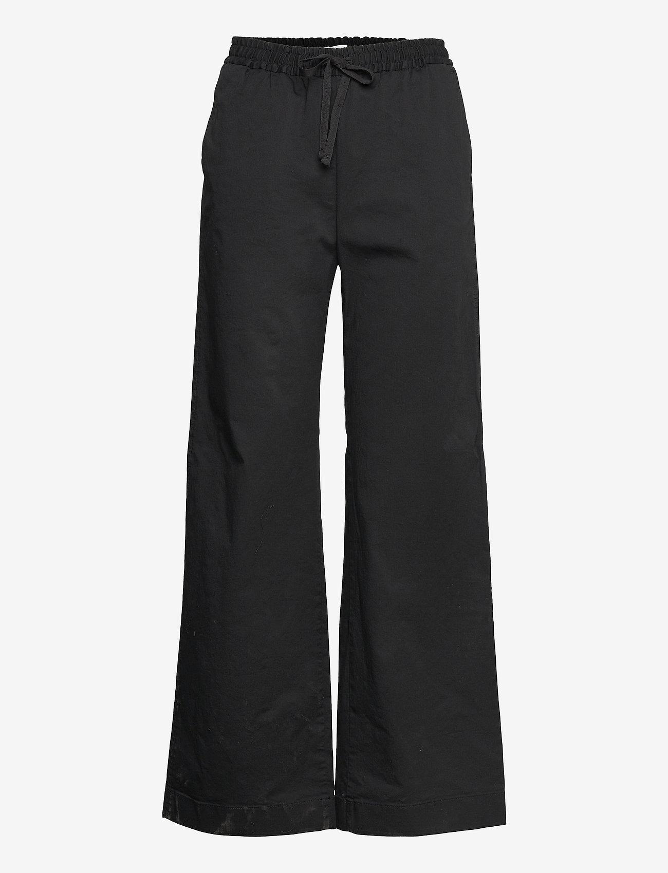 Filippa K - Gillian Trouser - bukser med brede ben - black - 0