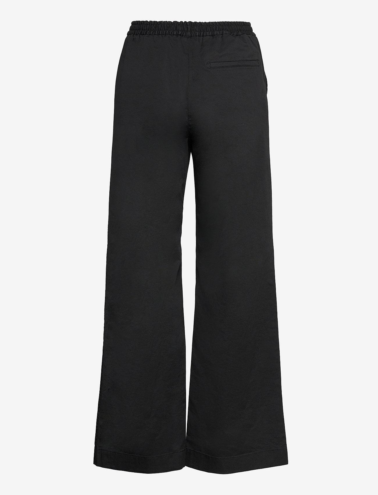 Filippa K - Gillian Trouser - bukser med brede ben - black - 1