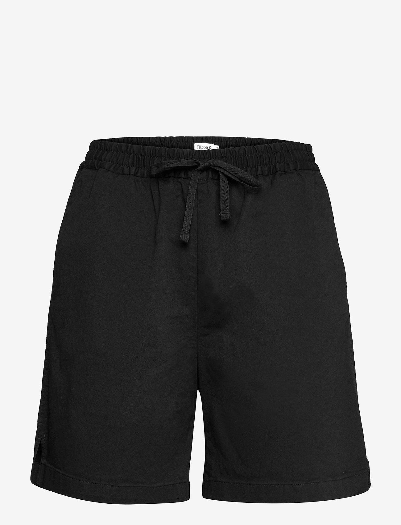 Filippa K - Jessa Short - shorts casual - black - 0