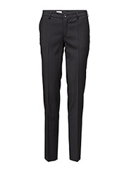 Luisa Cool Wool Slacks - BLACK