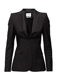 Eve Cool Wool Jacket - BLACK