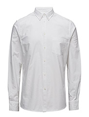 M. Paul Oxford Shirt - WHITE