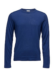 M. Fine Merino R-Neck - SHORE