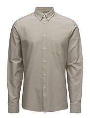 M. Paul Oxford Shirt - COIN/ OLIV
