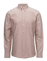 M. Paul Oxford Shirt - SALT/ RUST