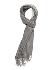 M. Cashmere Scarf - LIGHT GREY