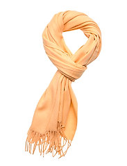 Cashmere Blend Scarf - PALE ORANG