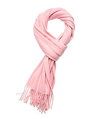 Cashmere Blend Scarf - TAFFY PINK