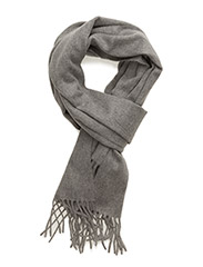 Cashmere Blend Scarf - LIGHT GREY