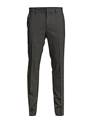M. Liam Cool Wool Slacks - GREY MEL.