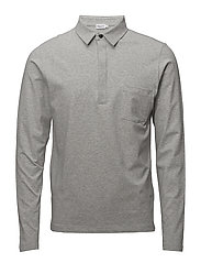M. Soft Lycra Poloshirt - LIGHT GREY