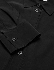 Filippa K - Classic Silk Shirt - dugim rękawem - black - 1