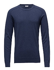 M. Cotton Merino Sweater - AQUATIC ME