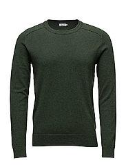 M. Cotton Merino Sweater - CROCODILE