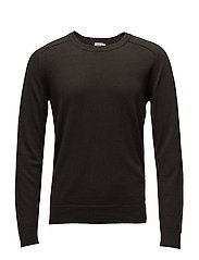 M. Cotton Merino Sweater - DARK BELUG